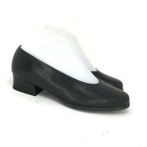 Beautifeel Womens Black Slip On Heels Size 5.5